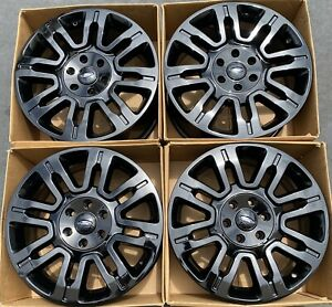 20 Ford F 150 Expedition Factory Wheels Rims Gloss Black Oem 3788 2010 2019