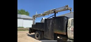 Imt 425 Hydraulic Crane Boom On 16 Truck Bed