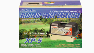 Fi shock 75 Mile 5 volt Ac operated Livestock Electric Fence Charger