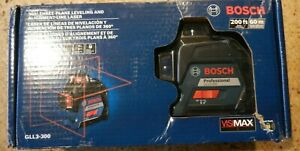 Bosch 360 Degree Three Plane Leveling Alignment Laser