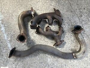 1984 85 Buick Regal T Type Grand National Headers Crossover Up Down Pipe Hot Air