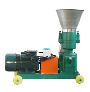 3mm Chicken Feed Pellet Mill Machine 220v 3kw For Small Birds 100 150kg hour