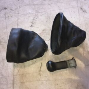 1985 Early 924 Porsche 944 5 speed Manual Shifter Boot Rubber Oem Used