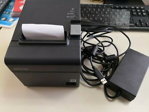 Epson Tm 20ii M267a Usb Serial Receipt Printer Pos Auto Cut Works W Square