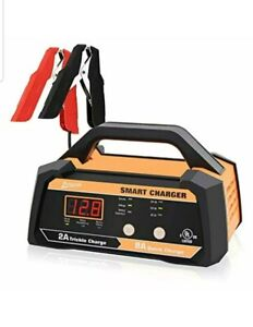 Ampeak 6v 12v Smart Car Battery Charger And Maintainer 2a 8a Fully Automatic Wit