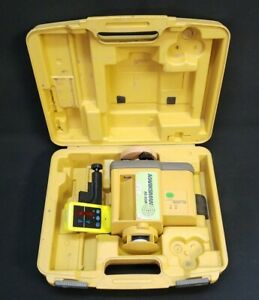 Topcon Rl 60b Rotary Laser Level With Receiver Clamp 74