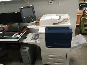 Xerox 550 With Fiery Ex 550 Rip Computer De curl Unit Light Production Finish