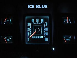 Gauge Cluster Led Dashboard Bulbs Ice Blue For Ford 73 79 F100 F350 Truck