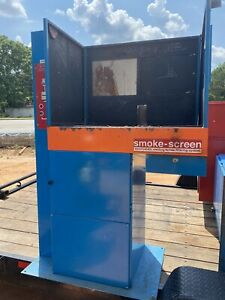 Welding Paint Booth Smoke Fume Extraction Downdraft Table