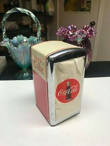 COCA-COLA NAPKIN DISPENSER HOLDER COLLECTIBLE