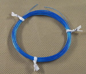 10 Ft 30 Awg Mil Spec Kynar Silver Plated Wire Wrap Solid Alpha Blue M81822 3