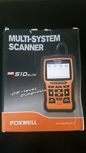 Foxwell Nt510elite For Toyota Mini Obd2 Scanner All System Diagnostic Tool Tpms