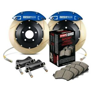 For Honda Civic 08 09 Stoptech Performance Slotted 2 piece Front Big Brake Kit