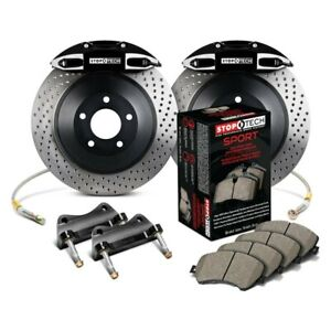 For Honda Civic 08 09 Stoptech Touring Drilled 1 piece Front Big Brake Kit