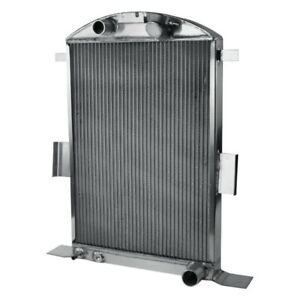 For Ford 1 2 Ton Pickup 1935 Afco 80148 S Na N Street Rod Performance Radiator