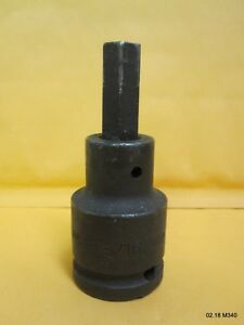 Armstrong 21 627 3 4 inch Drive Impact Hex Bit Socket 9 16 inch