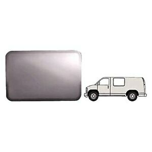 For Chevy Express 2500 97 03 Forward Driver Side Fixed all glass Look Window