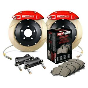 For Honda Civic 93 95 Stoptech Performance Slotted 2 piece Front Big Brake Kit