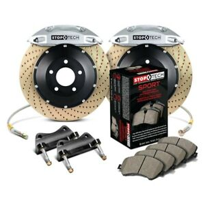 For Honda Civic 93 95 Stoptech Performance Drilled 2 piece Front Big Brake Kit