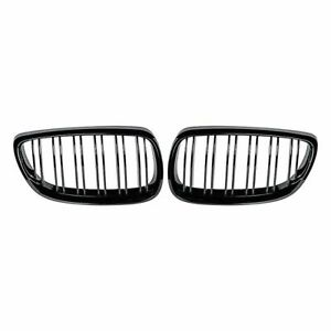Gloss Black Front Kidney Grill Grille For Bmw E92 E93 M3 328i 335i Coupe 07 10