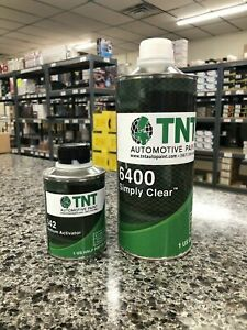 High Gloss Urethane Clear Coat Quart Kit 4 1 With Activator
