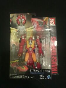 Transformers Titans Return Deluxe Class Firedrive & Hot Rod New Rare $27.99