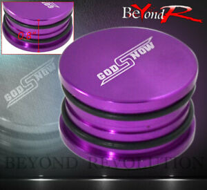 Jdm Camshaft Seal Cover Cap Plug Purple For Honda Acura D B H F Series Vtec