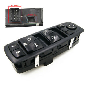 Fit For 2011 2016 Dodge Journey Left Driver Side Lh Master Window Switch Control