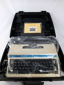 Brother Cassette Electronic Typewriter L10 Plus 3 W Case Manual Rarely Used