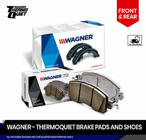 Front And Rear Brake Pads And Shoes Fits Chevrolet Equinox Saturn Vue