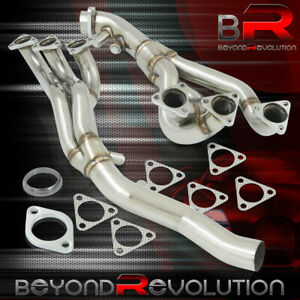 For 2001 2006 Bmw E46 M3 3 series 3 2l I6 S54 6 2 1 Stainless Exhaust Header Kit