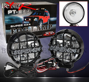 6 4x4 Offroad Round Hid Fog Headlight Spot Light Offroad For Jeep Atv Suv Boat