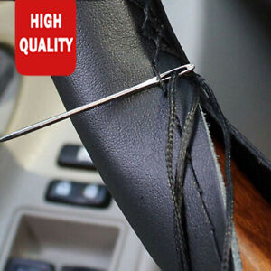 15 In 38 Cm Car Steering Wheel Cover Premium Soft Pu Leather For Volkswagen