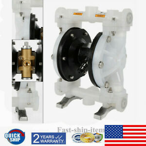 Air operated Double Diaphragm Pump Petroleum Fluids Waste Oil Inlet