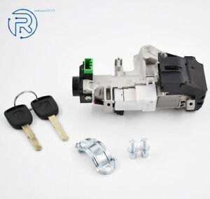 Ignition Switch Cylinder Auto Door Locks For Honda Civic 03 05 With 2 Keys