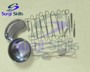 Obstetrics Gynecology Delivery Instruments Set Of 16 Pcs Surgical Instruments