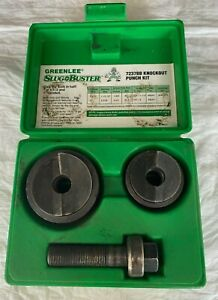 Greenlee Slug Buster 7237bb Knockout Punch Kit Complete Set