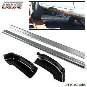 For 99 06 Gmc Sierra Silverado Extended Cab 4 Dr Rocker Panels And Cab Corners