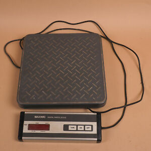 Siltec Ps 100l Heavy Duty Shipping Weighing Scale 100lbx0 1lb Base 12 x12 4