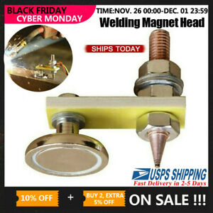 Magnetic Metal Welding Magnet Head Welding Support Ground Clamp Without Tail Usa
