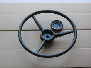 Steering Wheel And Cap For Ih International 1026 1066 1206 1256 1400 Cotton