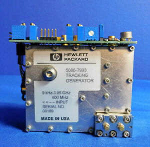 Agilent Hp Keysight 5086 7993 Tracking Generator Assembly