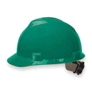Msa Safety 475362 V gard Slotted Green Protective Cap W Fas trac Iii Suspension