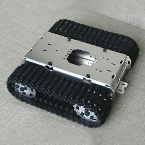 Smart Robot Tank Chassis Track Crawler Chassis For Wifi Car Mechanical Arm Xr