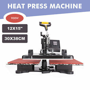 30x38 12x15 Double Station Sublimation Transfer Heat Press Machine For T shirt