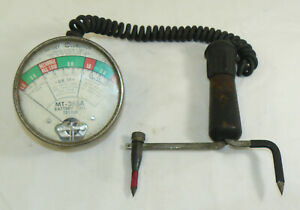 Vintage Snap On Tools Car Battery Cell Tester Mt 365a Usa