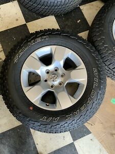 Dodge Ram 1500 Factory Wheels And Tires New Take Off Shiping Included