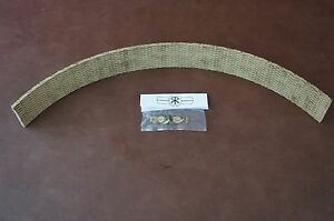1 X 3 16 X 12 Vintage Lawn Garden Tractor Brake Band Lining Rivets