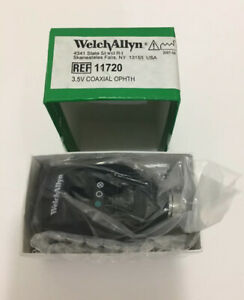 Welch Allyn 3 5v Coaxial Ophthalmoscope Model 11720 New