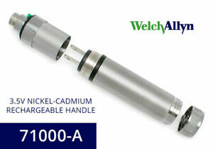Welch Allyn 71000 a Direct Plug in And Rechargeable Battery Handle 3 5v